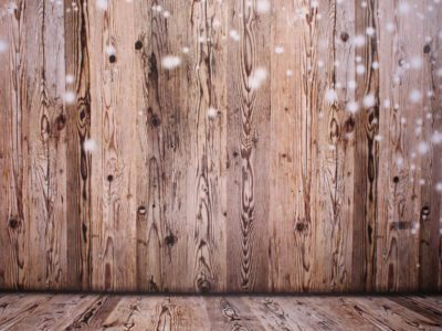 Wood Wall Floor Holiday