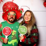 holiday party photo booth san antonio